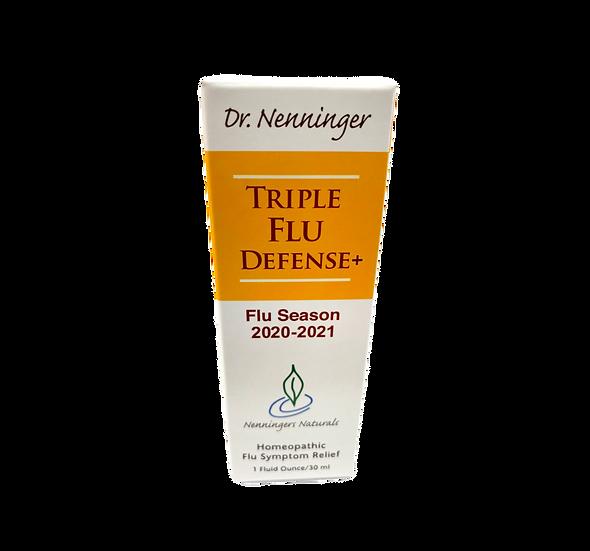 Dr. Nenninger - Triple Flu Defense 2020-2021 Flu Season - 1 fl oz