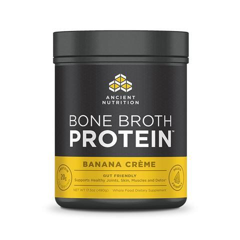 Ancient Nutrition - Bone Broth Protein Banana Creme - 17.3 oz