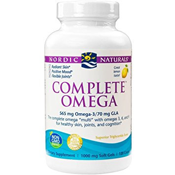 Nordic Naturals - Complete Omega 565 mg - 120 count