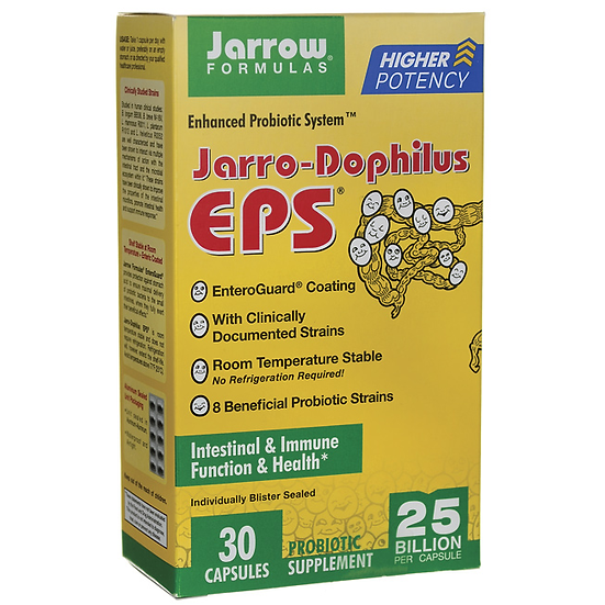 Jarro-Dophilus EPS 25 Billion 8 strains | 30 veg caps