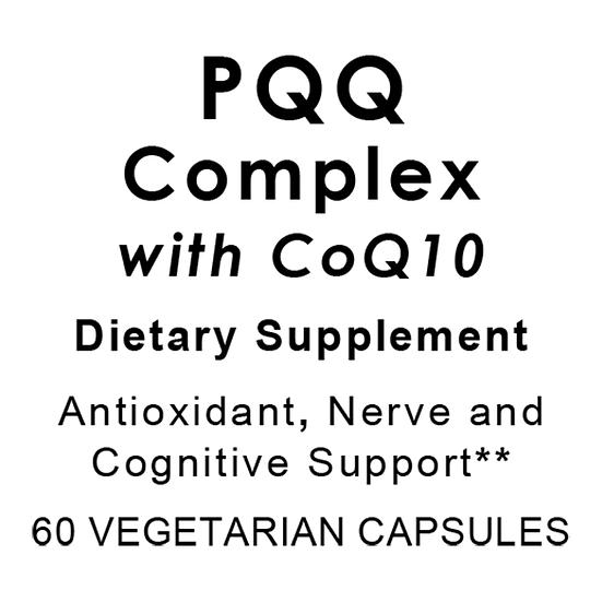 PQQ Complex with CoQ10 | 60 vegetarian capsules