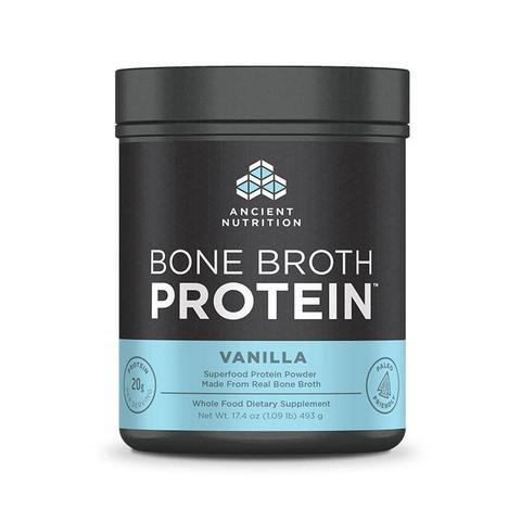 Ancient Nutrition - Bone Broth Protein Vanilla - 17.4 oz
