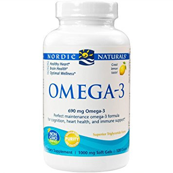 Nordic Naturals - Omega-3 690 mg - 120 count