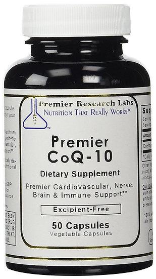 Premier CoQ-10 | 50 vegetarian capsules