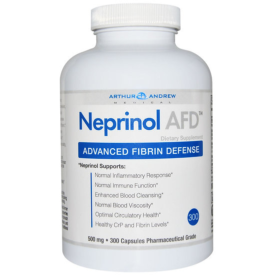 Arthur Andrew Medical - Neprinol AFD 500 mg - 300 capsules