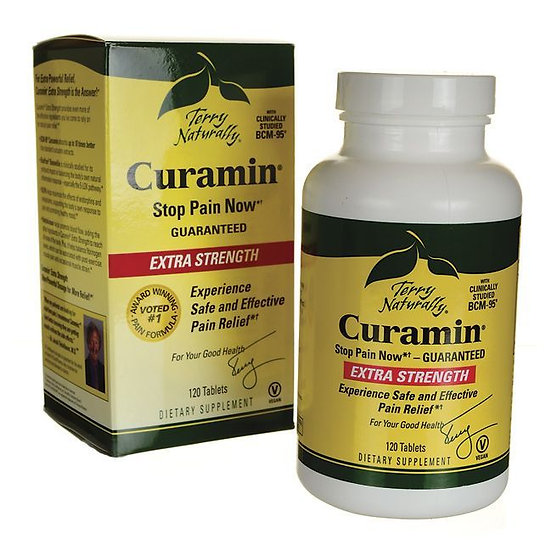 Terry Naturally - Curamin Extra Strength - 60 tablets