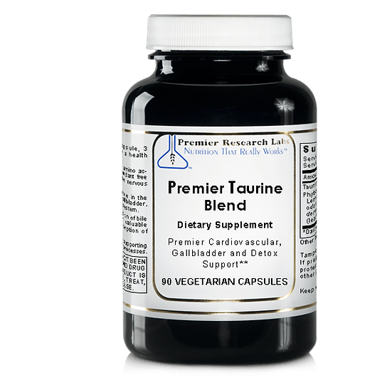 Premier Taurine Blend | 90 vegetarian capsules