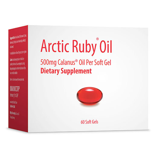 Arctic Ruby Oil 500 mg | 60 softgels