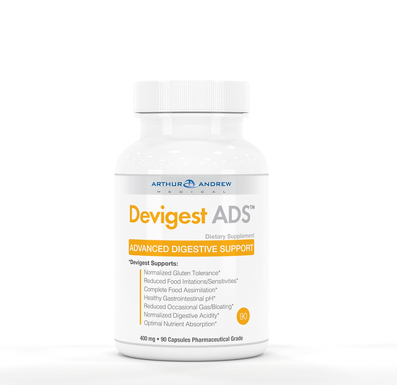 Arthur Andrew Medical - Devigest ADS 400 mg - 90 capsules