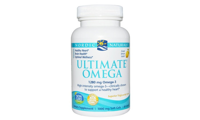 Nordic Naturals - Ultimate Omega 1280 mg - 60 count