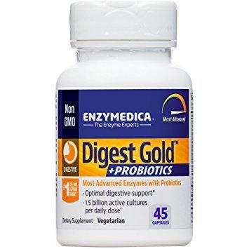 Enzymedica - Digest Gold +Probiotics - 45 capsules
