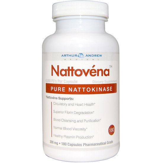 Arthur Andrew Medical - Nattovéna 200 mg - 180 capsules
