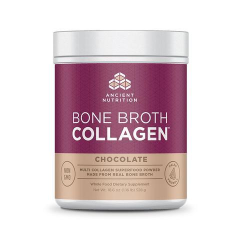 Ancient Nutrition - Bone Broth Collagen Chocolate - 18.6 oz