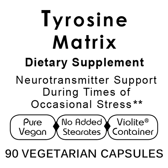 Tyrosine Matrix 90 vegetarian capsules