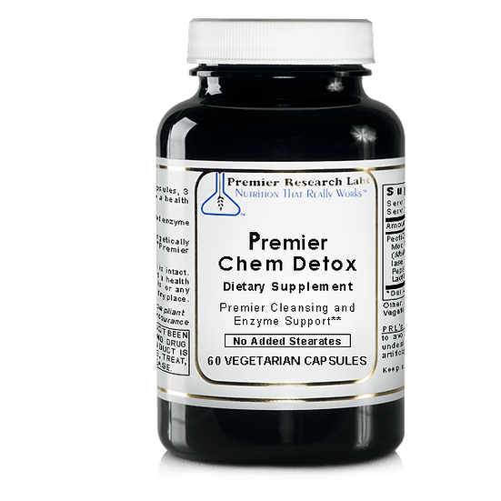 Premier Chem Detox | 60 vegetarian capsules