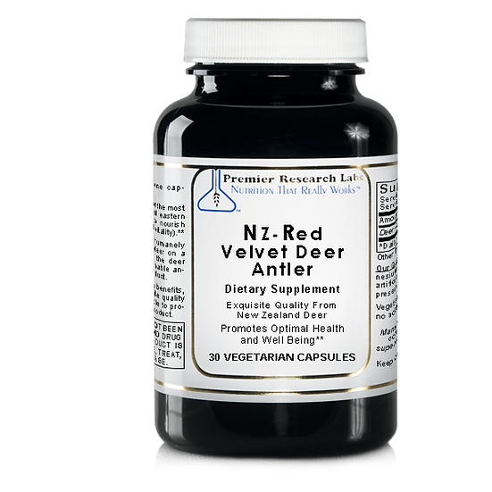 NZ-Red Velvet Deer Antler | 30 vegetarian capsules
