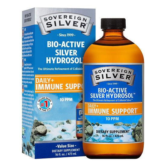 Bio-Active Colloidal Silver Hydrosol 10ppm | 16 fl oz | Sovereign Silver