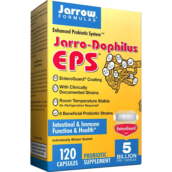 Jarro-Dophilus EPS 5 Billion 8 strains | 120 veg caps