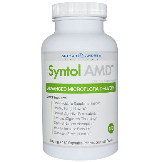 Arthur Andrew Medical - Syntol AMD - 500 mg - 180 capsules