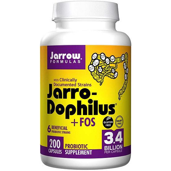 Jarro-Dophilus +FOS 3.4 Billion 6 strains | 200 capsules