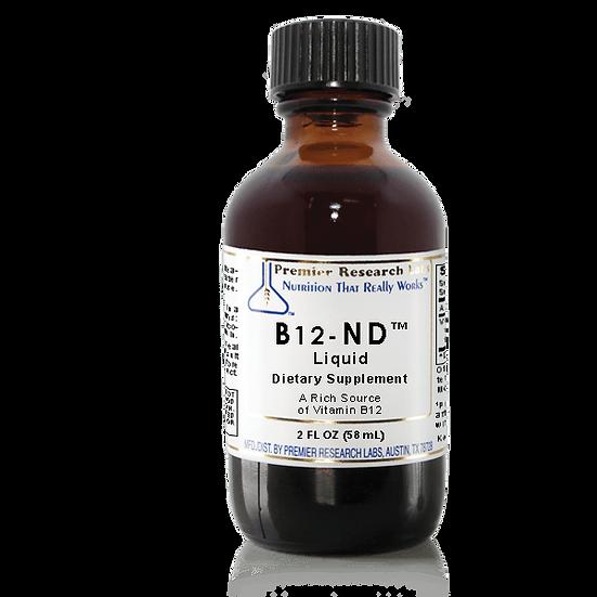 B12-ND Liquid | 2 fl oz | 46 servings