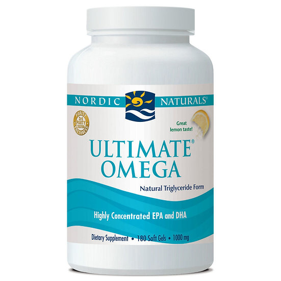 Nordic Naturals - Ultimate Omega 1280 mg - 180 count