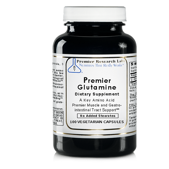 Premier Glutamine | 100 vegetarian capsules