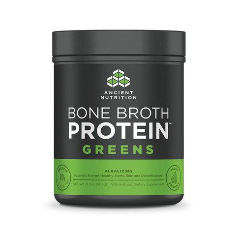Ancient Nutrition - Bone Broth Protein Greens - 17.8 oz