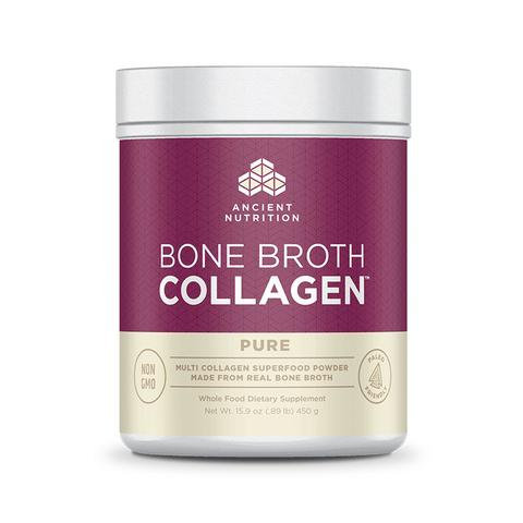 Ancient Nutrition - Bone Broth Collagen Pure - 15.9 oz