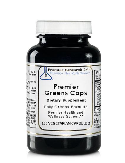 Premier Green Caps | 150 vegetarian capsules