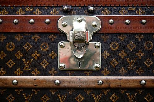 Luxury Leather Luggage