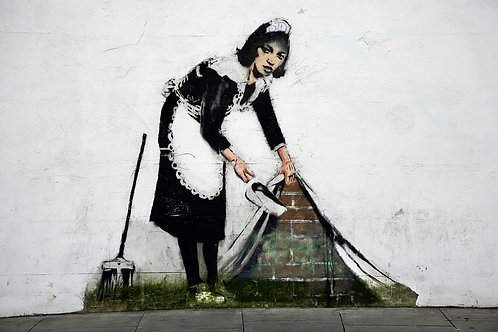 Banksy, Cleaning Up