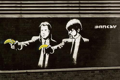 Banksy Goes Bananas