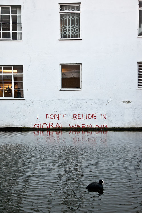 Banksy, Climate Change