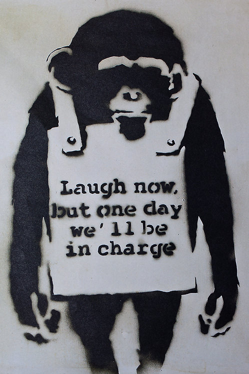 Banksy, Planet of the Apes