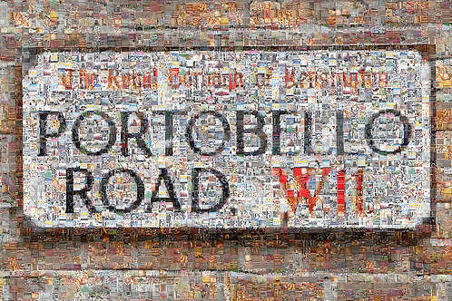 Portobello Road Mosaic
