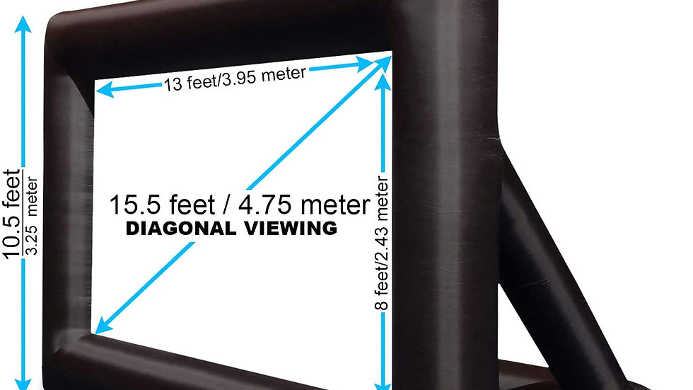 "Khomo 20"" Inflatable Screen"