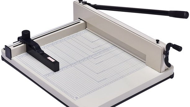 Large Stack Manual Paper Cutter