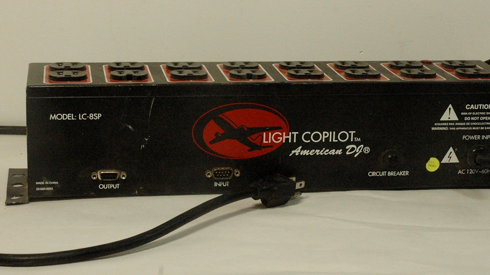 American DJ Light Copilot LC-8SP