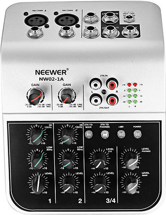 Neewer Mixing Console Compact Audio Sou
