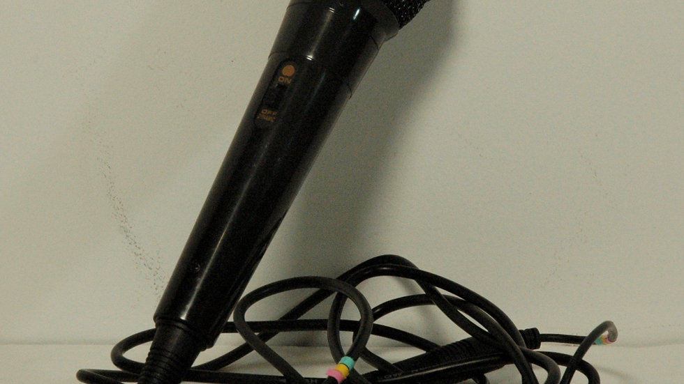 """Handheld Dynamic Mic with 10' cable, 1/4"""" Plug"""