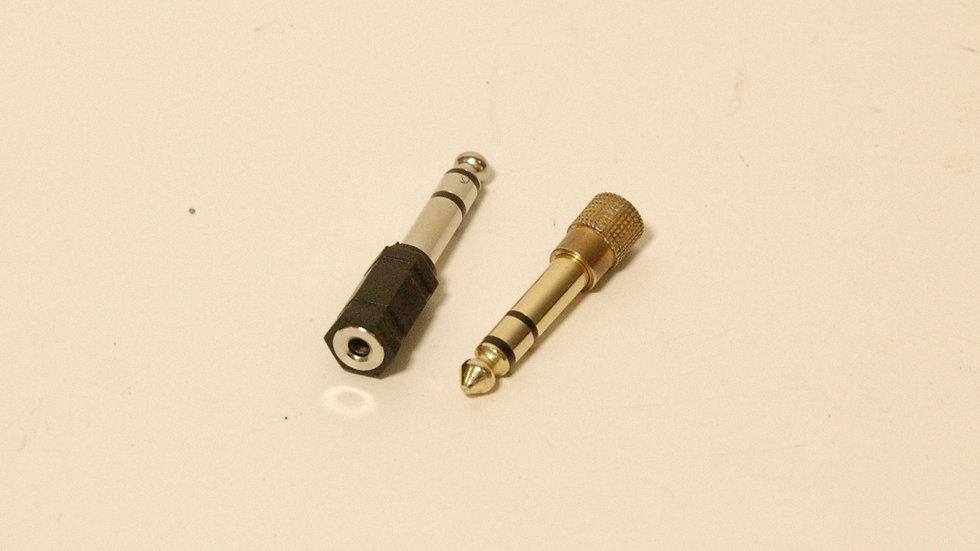 "3.5mm Jack to 1/4"" Plug Adapter"