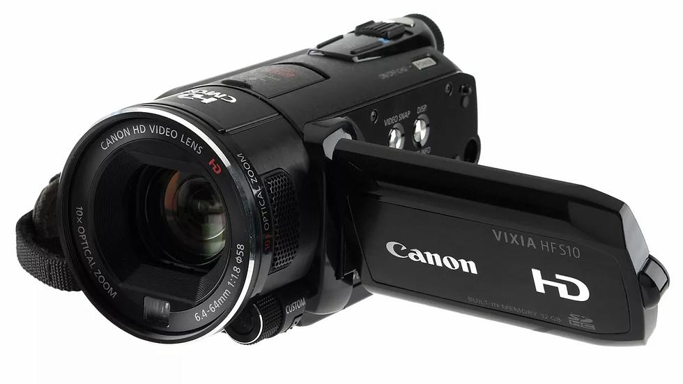 The Canon HF S100
