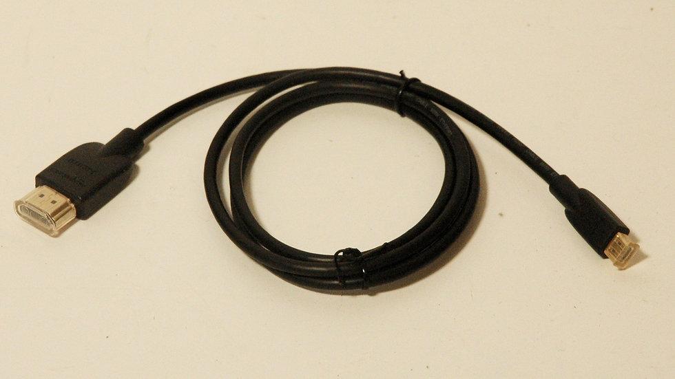 HDMI to micro-HDMI Cable