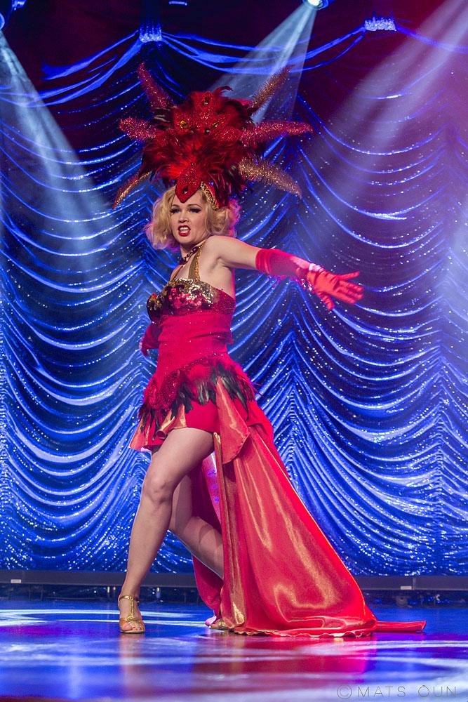 Affinity Starr - Vintage showgirl