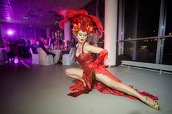 Affinity Starr - Burlesque performer and showgirl from Estonia