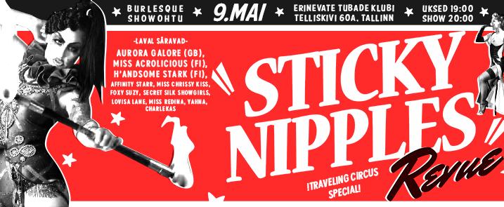 Sticky Nipples Revue