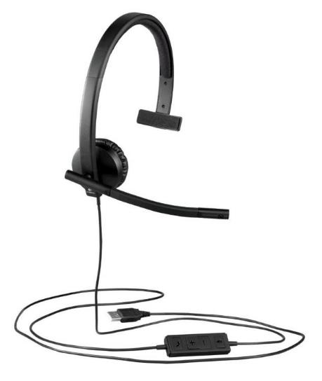 Logitech Headset H570 USB Monoaural