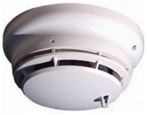 Simplex Sensor de humo y temperatura Analogo