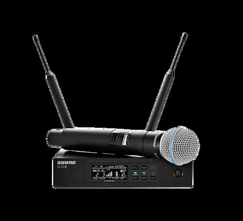 Micrófono Shure Inalámbrico QLX24/B58-J50